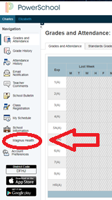 PowerSchool Screenshot 1